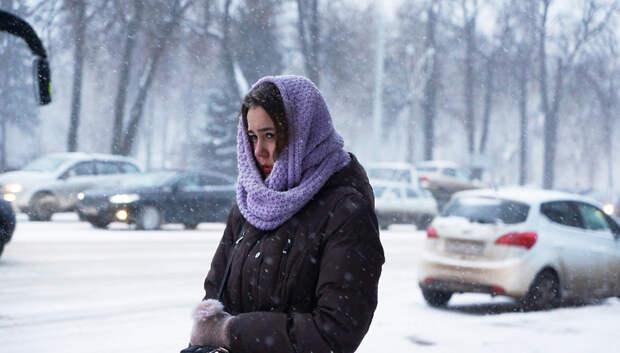 «Желтый» уровень опасности из‑за метели продлили в регионе на 22 февраля