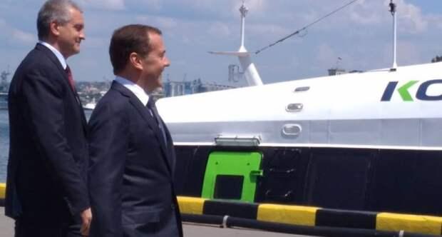 Медведев запустил «Комету»