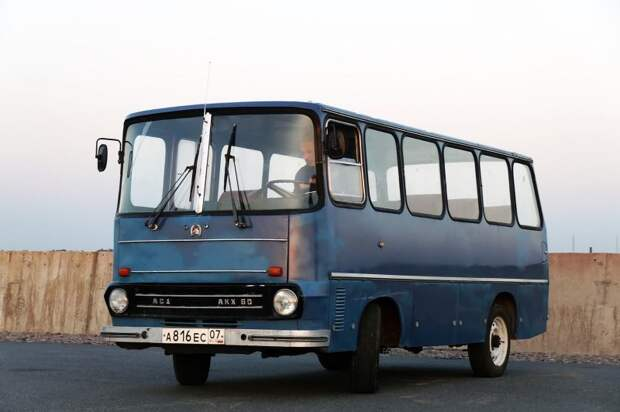 АКХ-60: Ненастоящий Венгр, или брат его меньший АКХ-60, авто, автобус, икарус, олдтаймер, ретро техника, самоделка, самодельный автомобиль