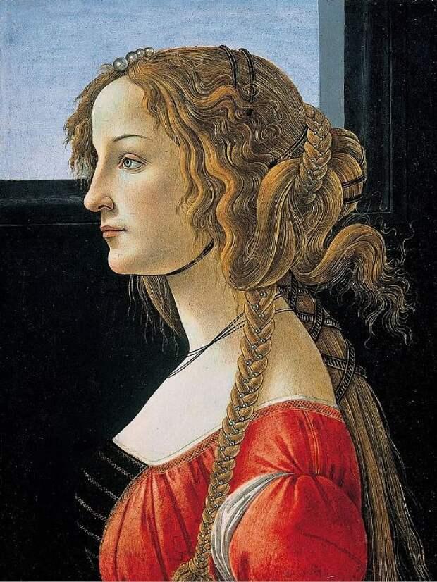 Симонетта Веспуччи – первая красавица Ренессанса