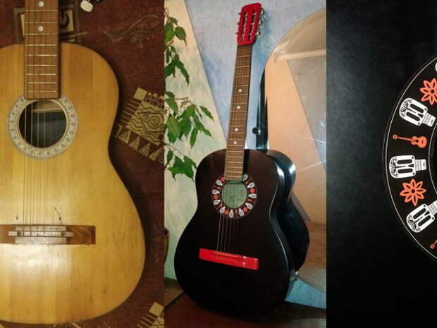 Реставрация акустической гитары СССР