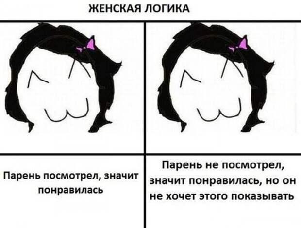 Женская логика девушки, женщина, логика