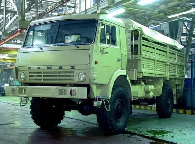 КАМАЗ-4326 — универсальный полноприводный двухосник