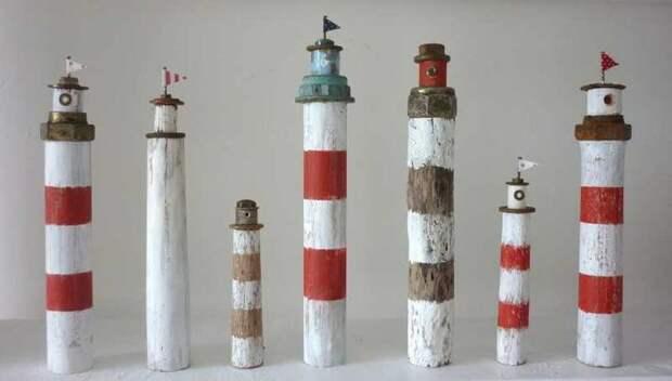 Driftwood art: идеи декора для влюбленных в море