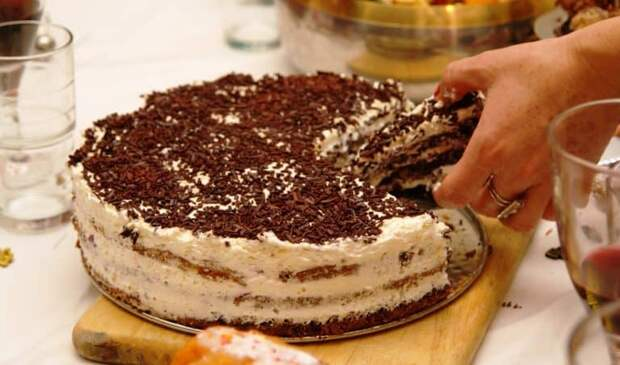 Домашний торт Наташа