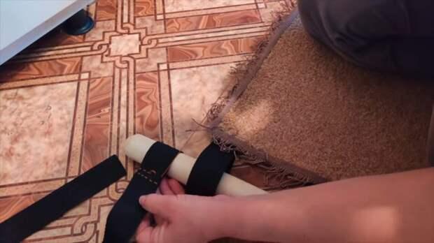 Мамина гениальная идея переделки старого ковра на дачу — вся семья в восторге