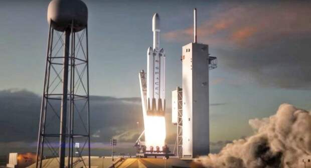 SpaceX выпустила деморолик будущего полёта Falcon Heavy