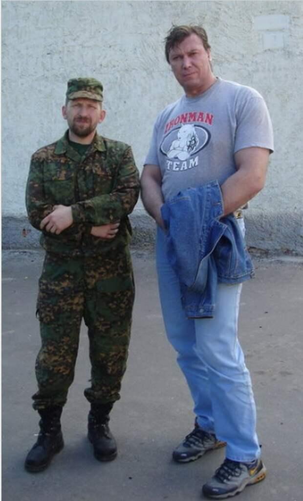 Сергей Рубан — бодибилдер, «гладиатор» и звезда кино