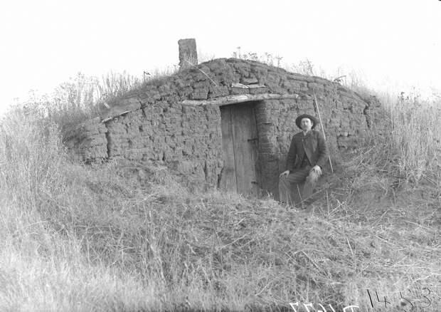 Как поднималась американская целина. Архивные фотографии пионеров Великих равнин конца 19-го века 37