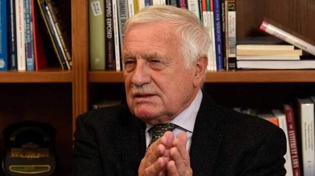 Власти Чехии намеренно держат население в страхе фейком о России - экс-президент