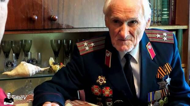 Битва за Днепр: последний боец 152-й дивизии, Иван Стефанович Пеня жив (94 года) ВОВ 1941-1945, ветеран ВОВ, война, интервью
