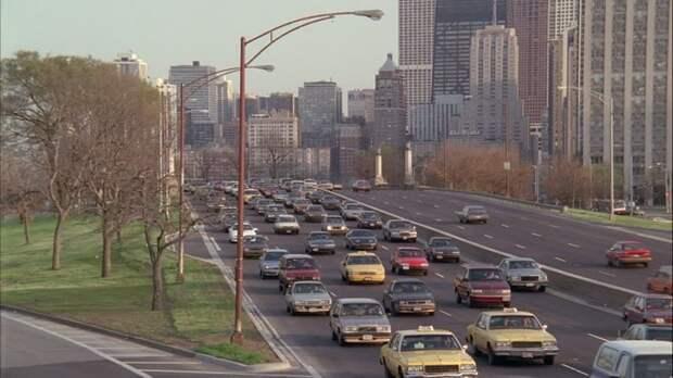 Чикаго 25 лет назад: 1992, СССР, дорожное движение, капиталистические страны, прошлый век, соц. страны, страны третьего мира, улицы