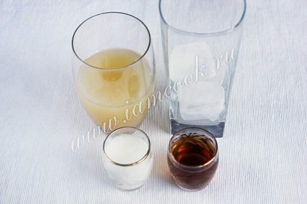 Пропорции для коктейля Пина колада