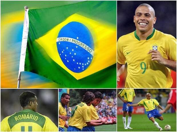 Бразильские футболисты 90х