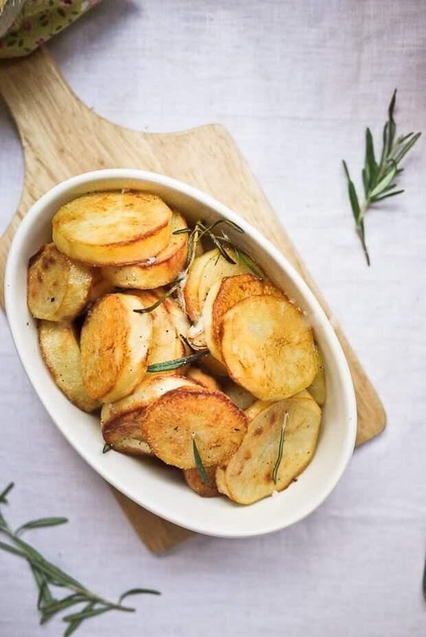Запеченная картошка по рецепту Джейми Оливера