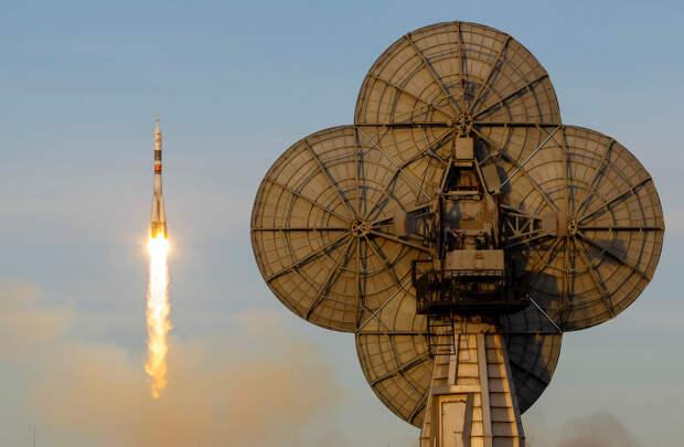 Старт космического корабля «Союз МС-11»