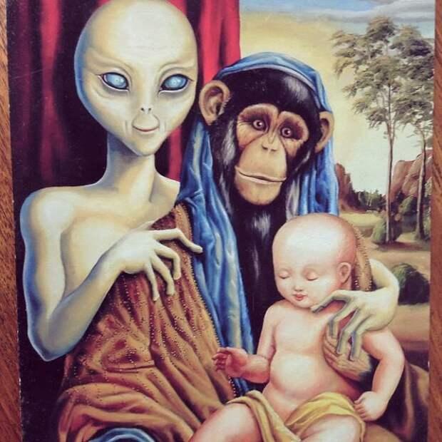 """Ученые-уфологи """"просчитали"""" какое впечатление человек производит на пришельцев"""