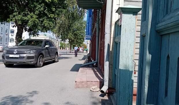 Очередной мастер парковки возмутил тюменцев