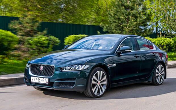 Jaguar'ы XE из парка ЗР - дизель против бензина