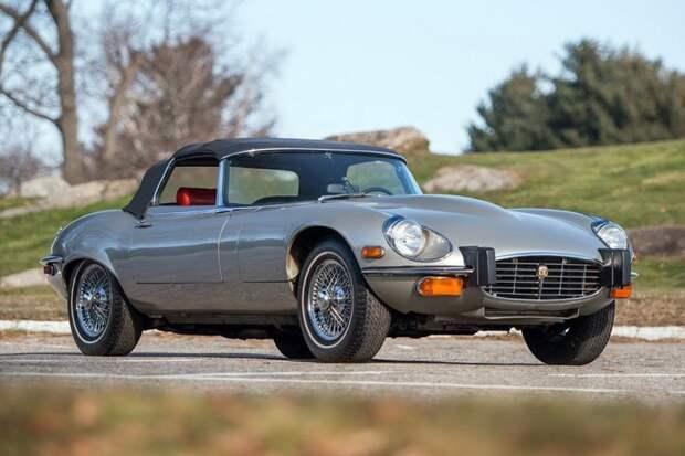 Jaguar E-Type авто, автодизайн, америка, бампер, безопасность, накладка, спорткар, суперкар