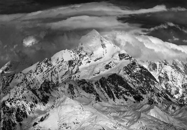 bnwmountains12 Черно белые фотографии гор