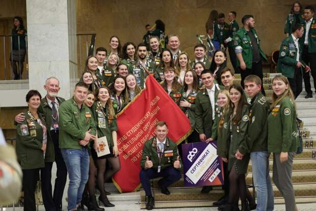 Штаб студенческих отрядов «Механ» из Удмуртии признали лучшим в России