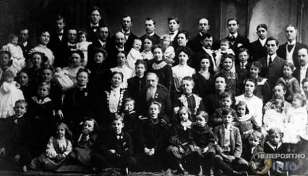 Русская женщина родила 69 детей