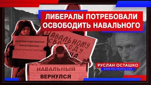 Доящие госбюджет либералы потребовали освободить Навального