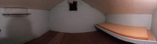Панорамный снимок комнаты дом, загадка, комната, находка, странность, фотография, чердак