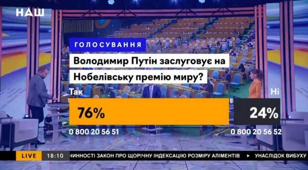 Путин остаётся повелителем свидомитов