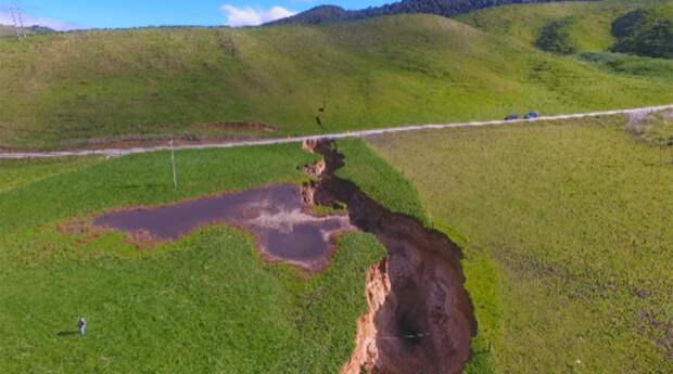 В США активизировался спящий 500 лет тектонический разрыв, способный вызвать мощное землетрясение