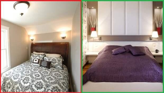 7 ошибок в оформлении спальни, которые заставляют жалеть о средствах, потраченных на ремонт