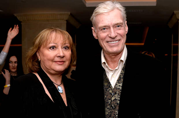 Борис Щербаков с супругой Татьяной.