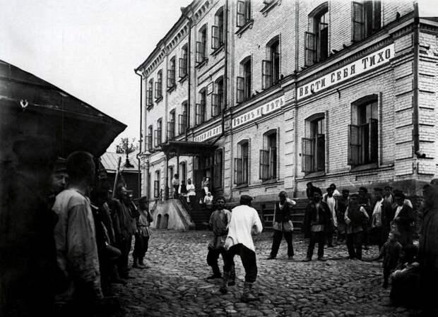 История кулачных сражений на Руси