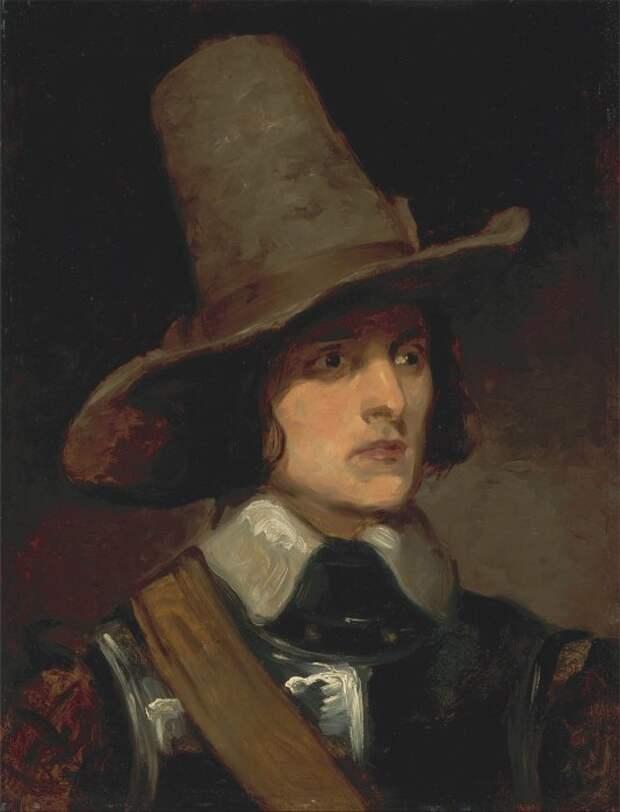 Август Эгг, нарисованный Ричардом Даддом. / Фото: wikimedia.org.