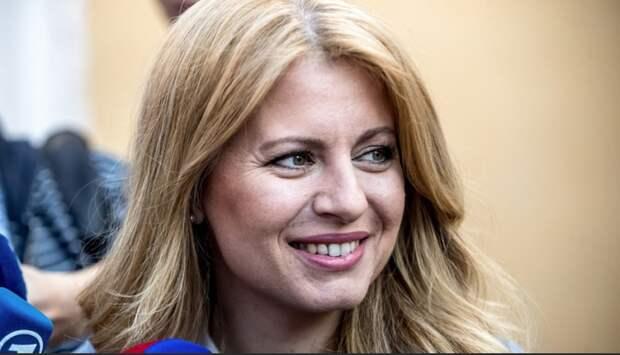 Президентом Словакии впервые избрана женщина