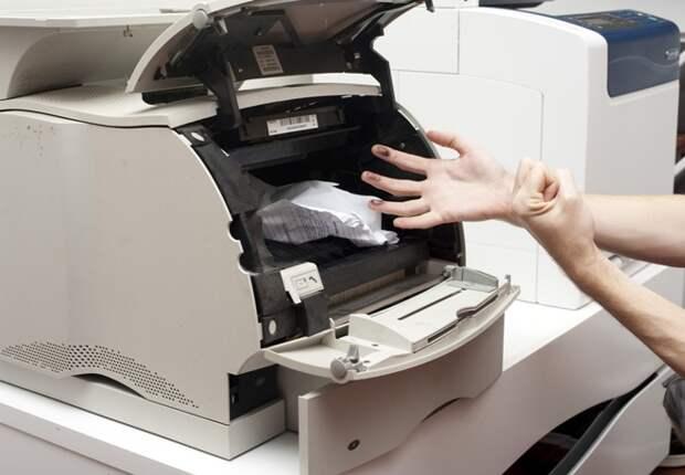 Чистим принтер