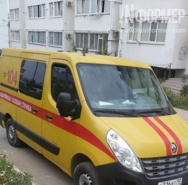 В Севастополе в доме сотрудников ФСБ вспыхнул пожар