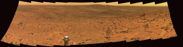 Лучшие фотопанорамы от марсохода Spirit