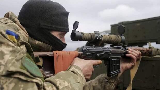 Снайпер ВСУубил мирного жителя вДонецке