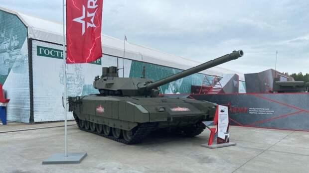 Российскую «Армату» заменит танк с электротермохимической пушкой