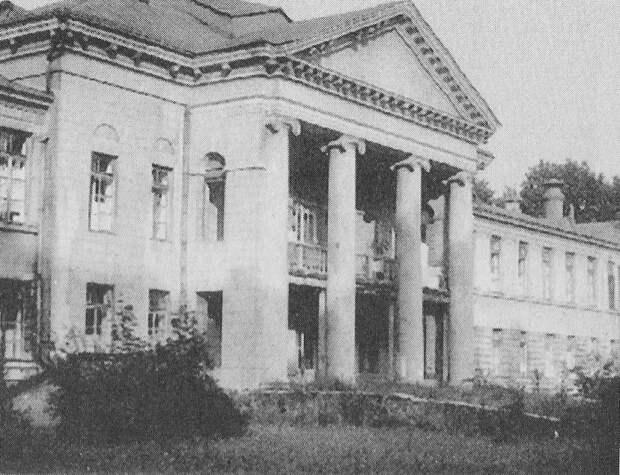 Главный корпус больницы им. Захарьина pastvu.com