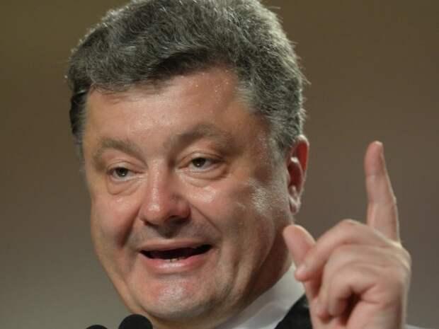 На Украине переживают, что Порошенко был пьян и перепутал самолёт