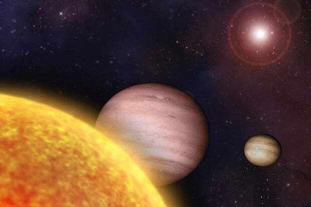 Солнечная система, будущее, открытый космос, звёзды, млечый путь