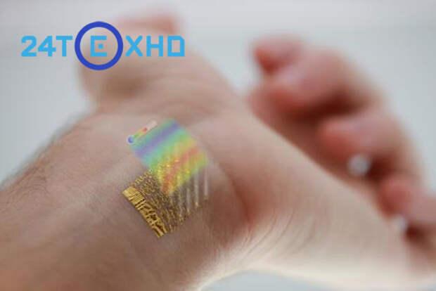 Собирать данные о здоровье позволит новый электронный пластырь, похожий на тату