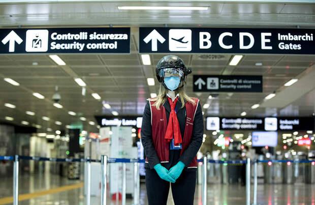 Римский аэропорт «Фьюмичино» получил пять звезд от Skytrax за борьбу с коронавирусом