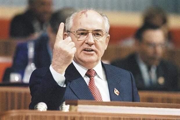 Как Горбачев рекламировал унисекс-товар.