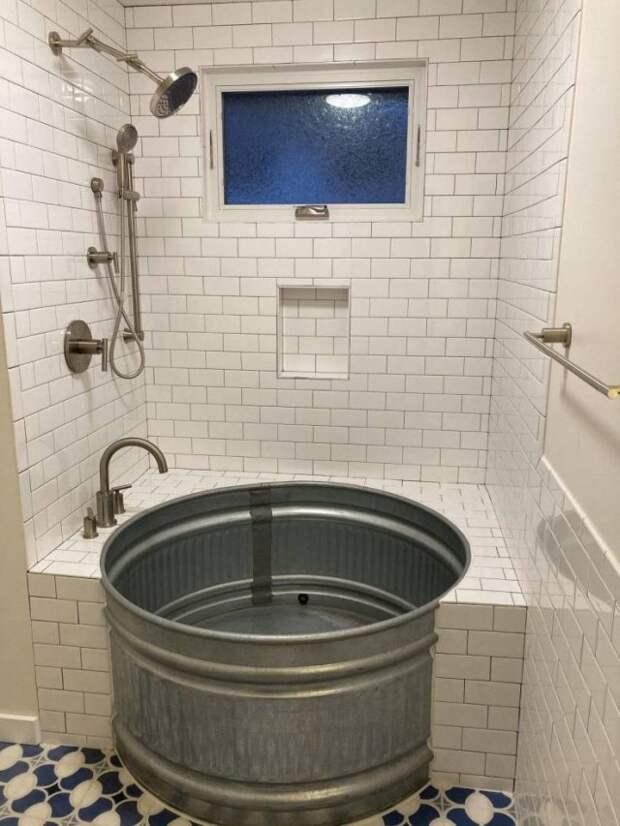 Креативный дизайн ванны