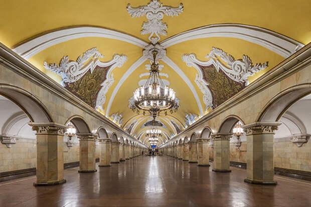 Названа самая загруженная станция метро Москвы в 2020 году