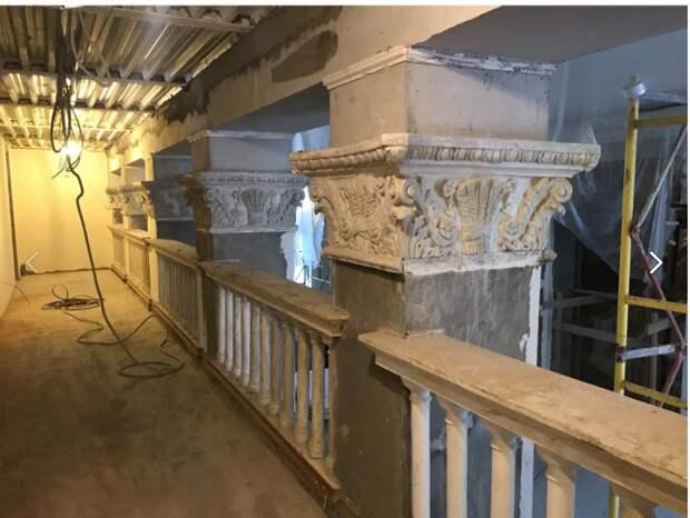 Продолжаются ремонтные работы Культурного центра «Северный»